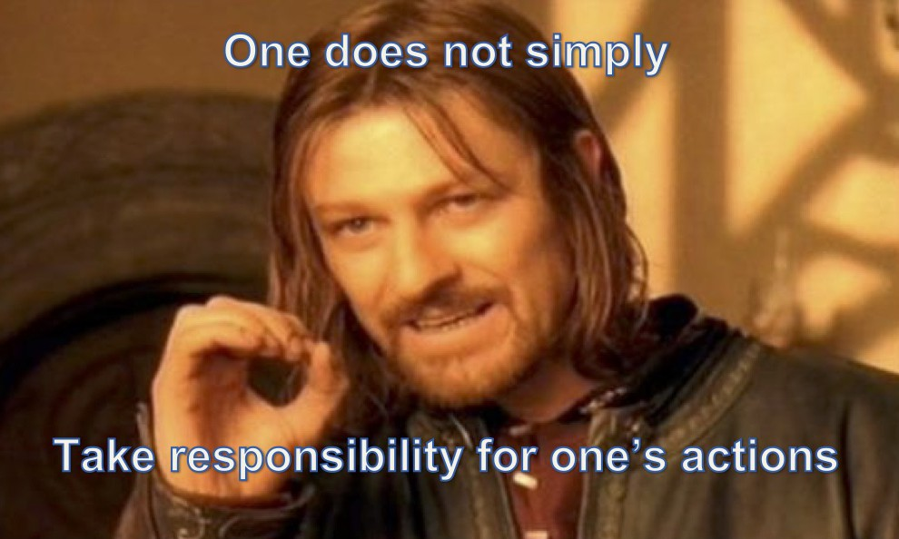 Responsibility Meme